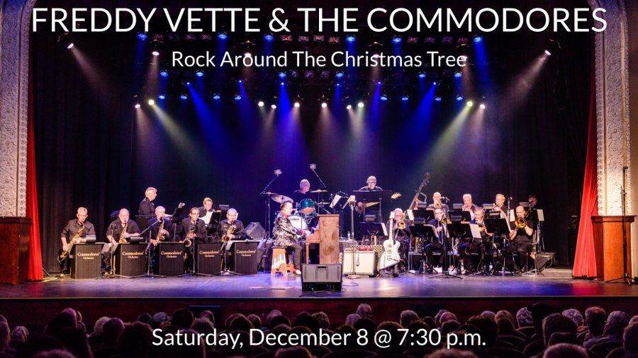 Freddy Vette & The Commodores: Rock Around the Christmas Tree