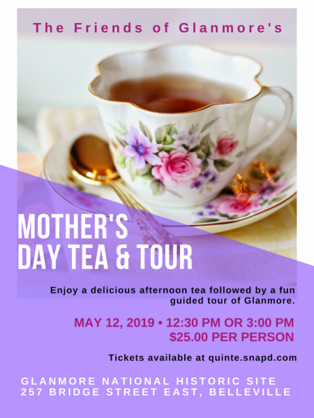 Mother's Day Tea and Tour
