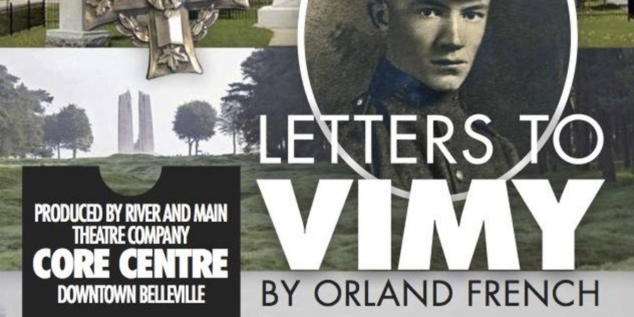 Letters to Vimy by Orland French